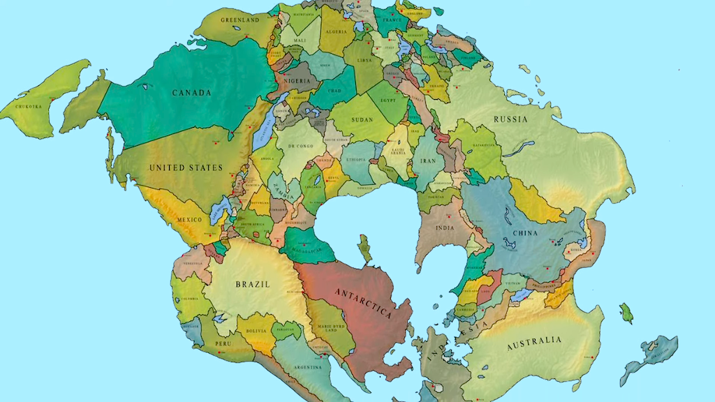 What will the world might look like in 250 million years