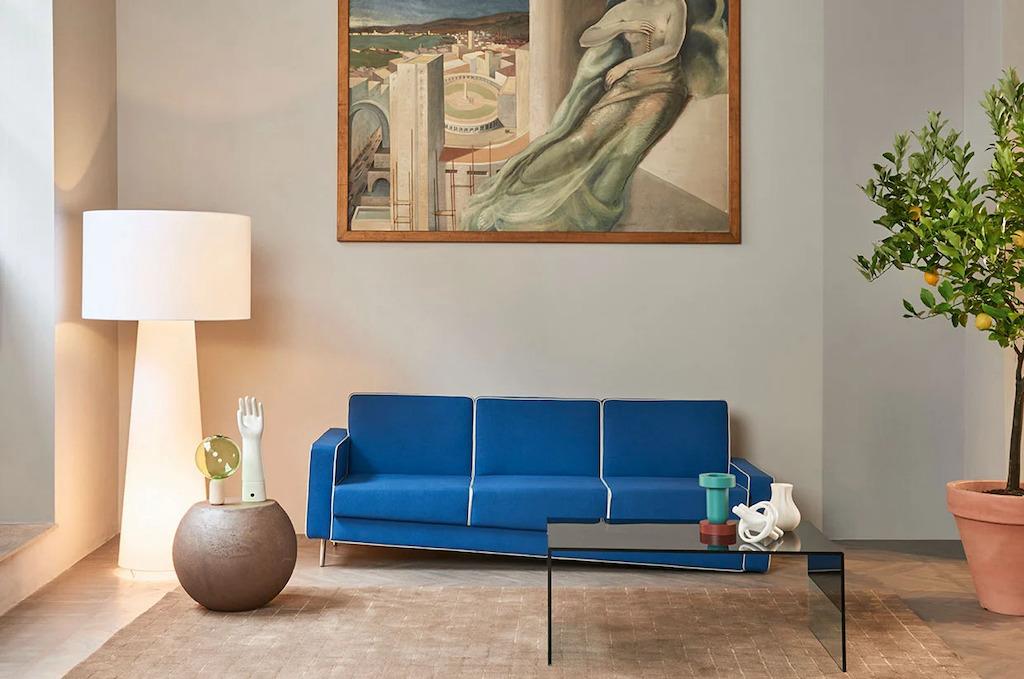 Adaptation Illusion Sofa Blue