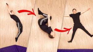 Bouncy Floor Trampoline