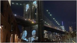Brooklyn Bridge COVID Memorial