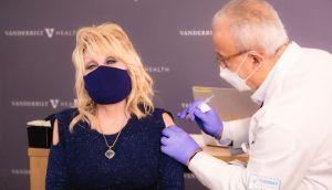 Dolly Parton Gets Vaccination
