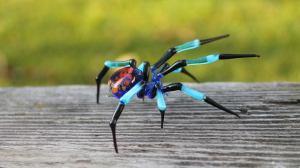 Glass Spider Lampwork Handblown