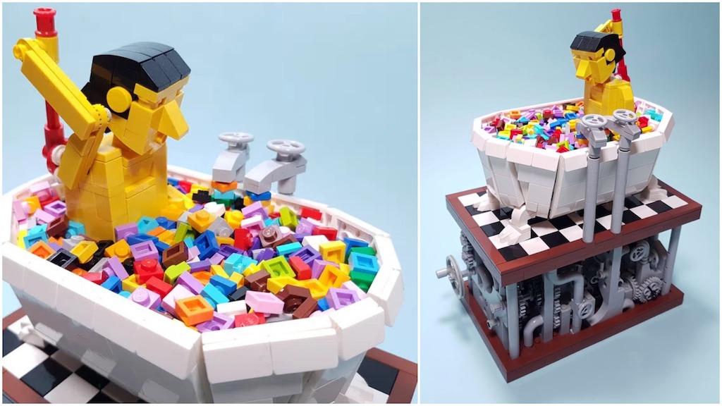 LEGO Bath Time