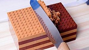 LEGO Chocolate Cake