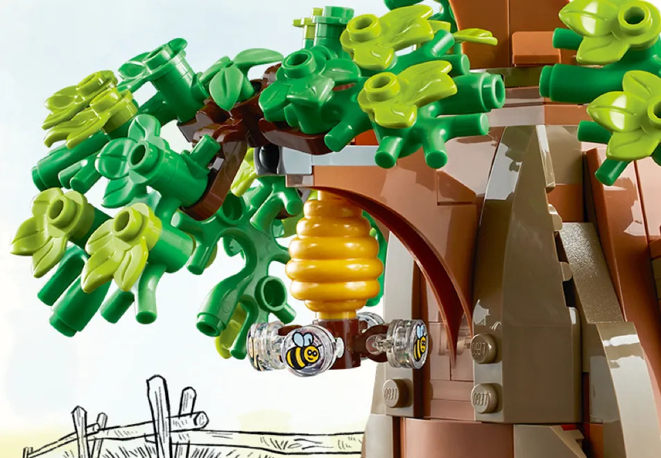 LEGO Winnie the Pooh Set Beehive