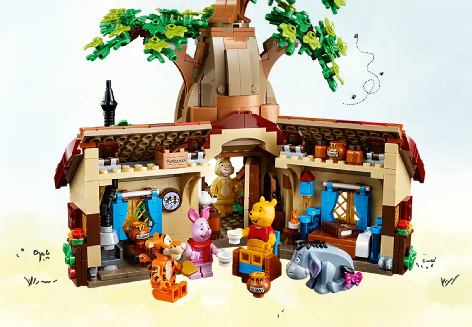 LEGO Winnie the Pooh Set Open