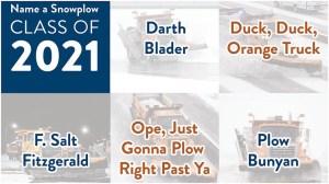 Name a Snowplow Class of 2021