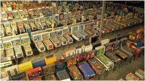 Pinball Machines at Pacific Pinball Machine Annex Eddie Codel