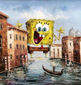 SpongeBob Thrift Store