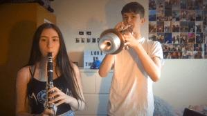 Star Wars Cantina Band Trumpet Clarinet Duet