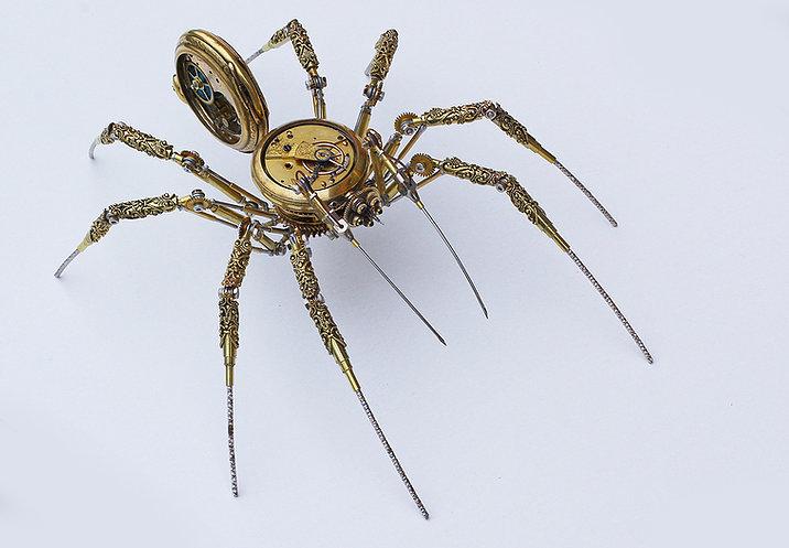 Steampunk Spider Antique Watch