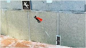 Sticker Art Superhero