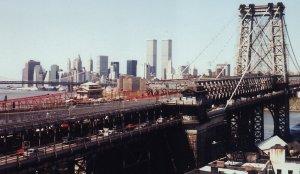 Williamsburg Bridge Twin Towers 1998