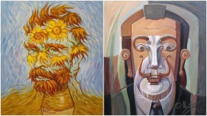 Artist Portraits in Their Own Style