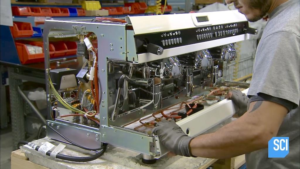 Espresso Machine Assembly
