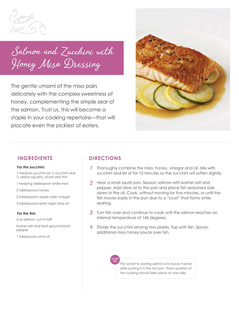 Fancy Feast Salmon and Zucchini