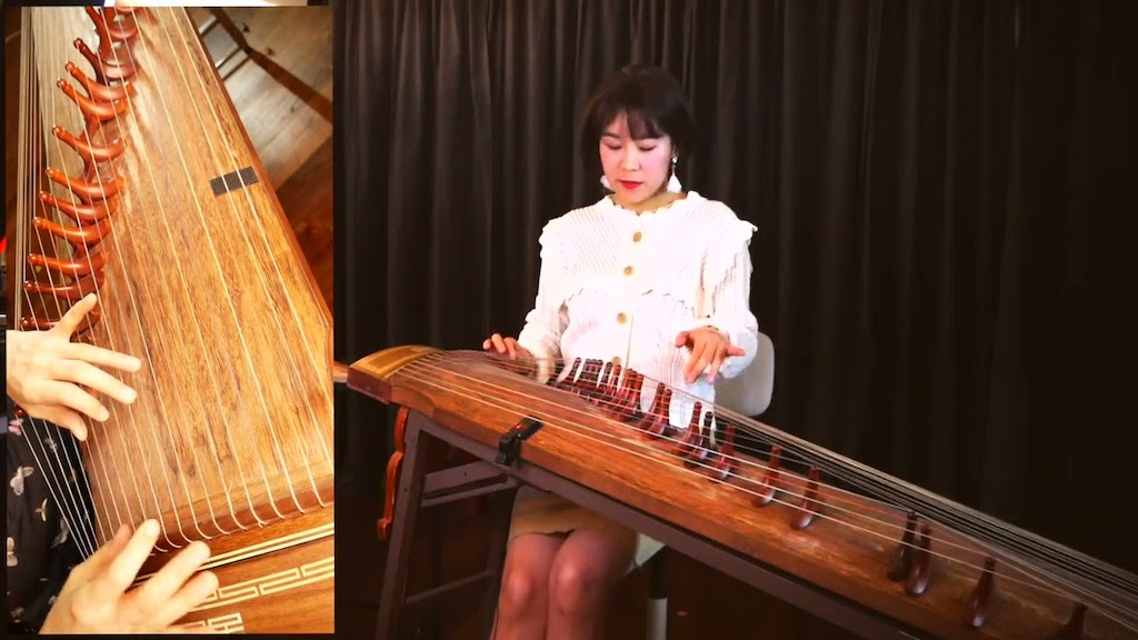 A Beautiful Cover of the George Michael Song 'Careless Whisper' Played on a Traditional Korean Gayageum