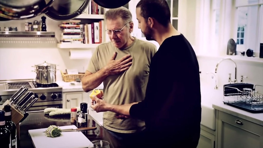 Harrison Ford Hilariously Responds to an Incredible Card Trick Performed by David Blaine