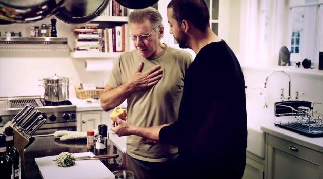 Harrison Ford Finds Card in Orange Real or Magic David Blaine