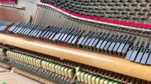 Metal Hammers on a Piano