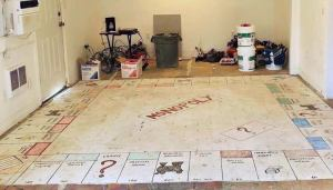 Monopoly Board Floor