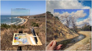 Richard Oliver Plein Air Landscape Portraits
