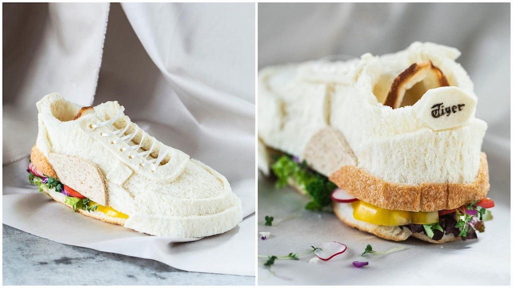 An Incredible Edible Shoe That's Made Out of Toast