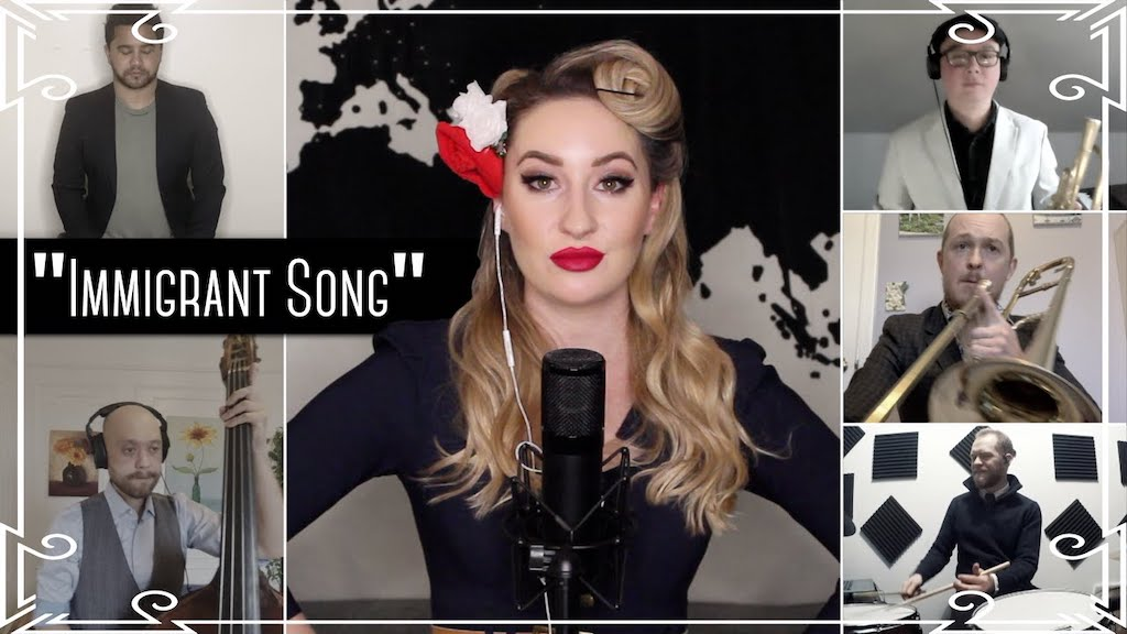 1940s Swing Cover of Led Zeppelin Immigrant Song