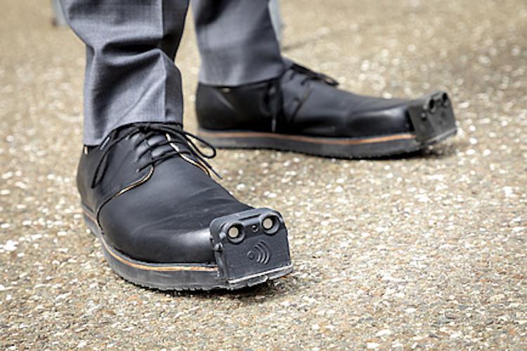 Blind Assistance Shoes