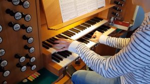 Boulevard of Broken Dreams on Church Organ