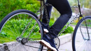 Chain Bicycle Frame