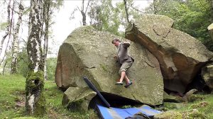 Johnny Dawes No Hands Rock Climbing in Tweed