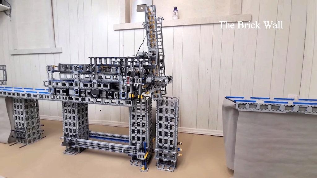 Lego Bridge Factory