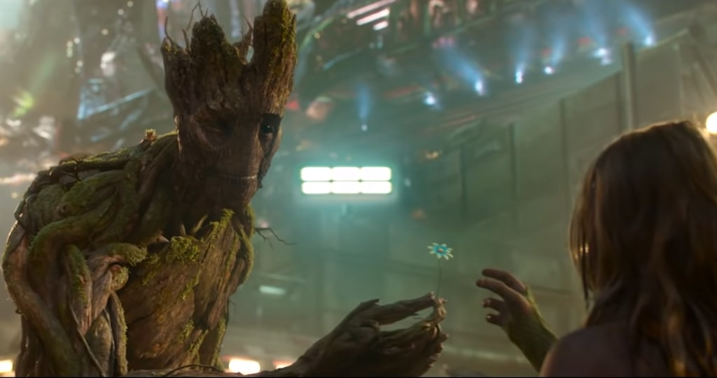 Marvel Studios Celebrates The Movies Groot Flower