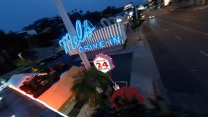 My Favorite Song Drone Flight Mels Drive In Los Angeles