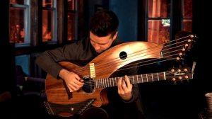 Paranoid 20 String Harp Guitar Cover Jamie Dupuis