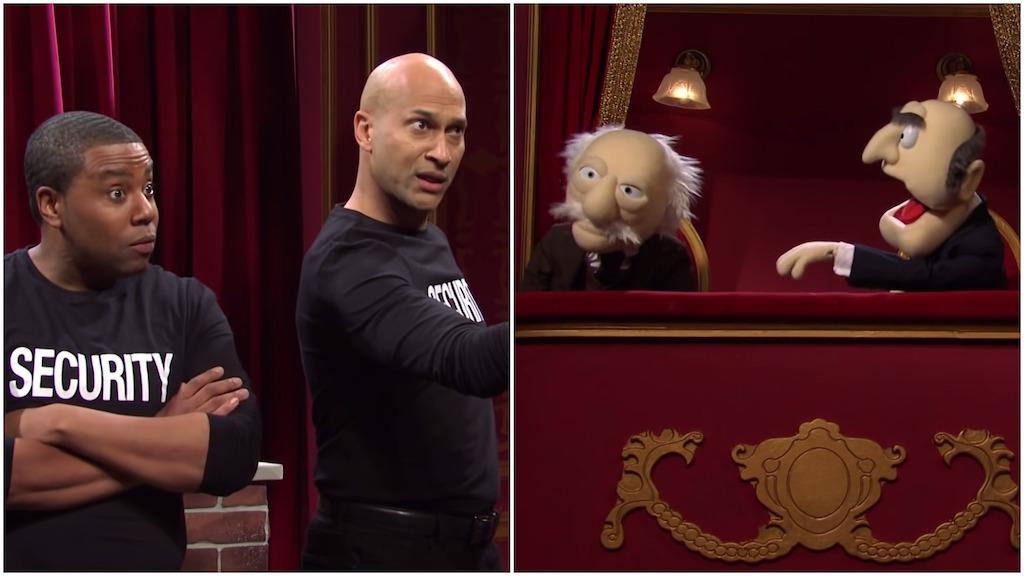 SNL Bouncers Statler Waldorf Muppet Sketch