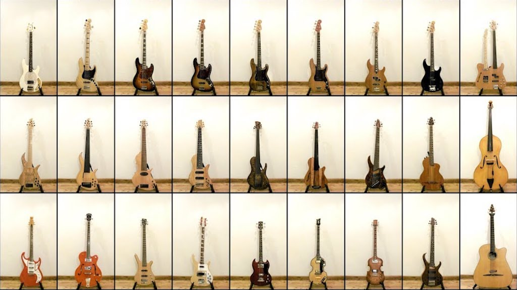 Musicians Create a Song That Showcases the Wide Diversity of Sounds Made by Different Bass Guitars
