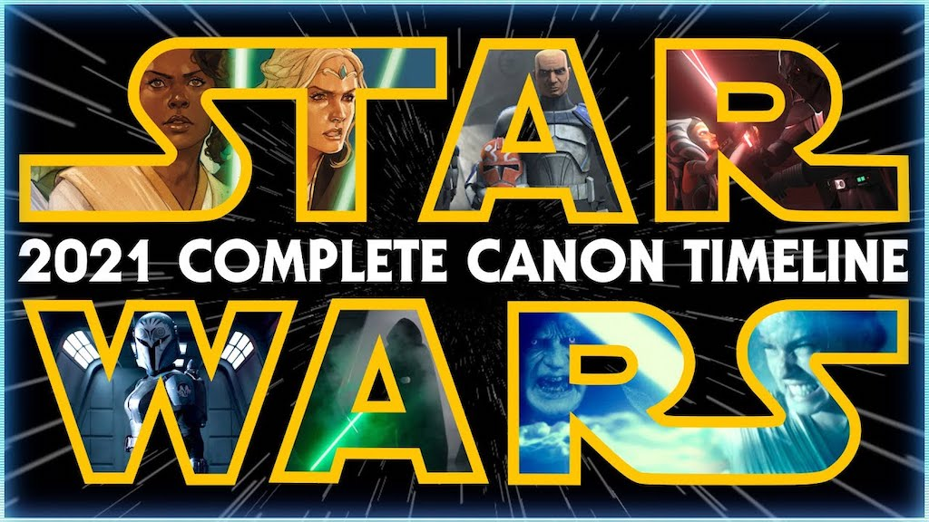 The Complete Star Wars Canon Timeline Explained