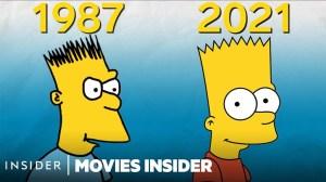 The Simpsons Evolution Over 32 Seasons