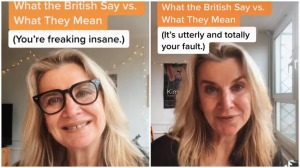 What British Say Versus What They Mean