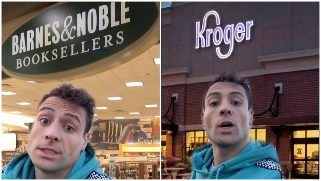 Son Ponders Why Moms Add an 'S' to Store Names
