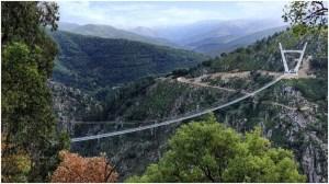 Worlds Longest Pedestrian Bridge Arouca Portugal