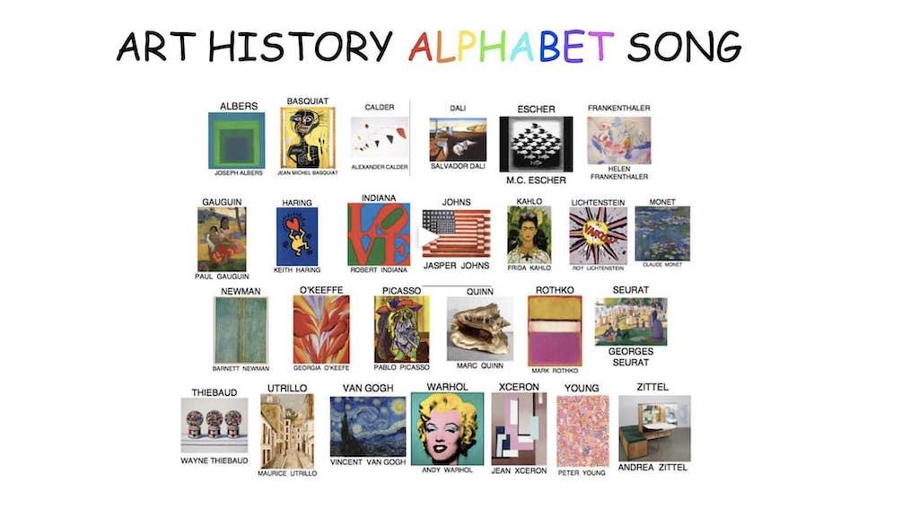 Art History Alphabet Song