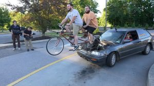 Bicycle Powered Car