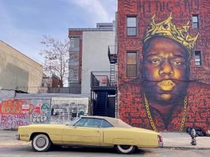 Biggie Smalls King of New York Mural