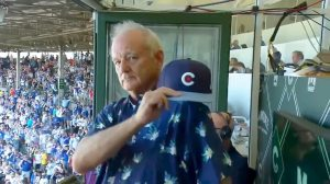Bill Murray Cubs Take Me out to the Ball Game