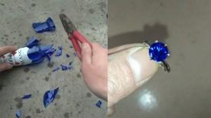 Broken Bottle Jewelry