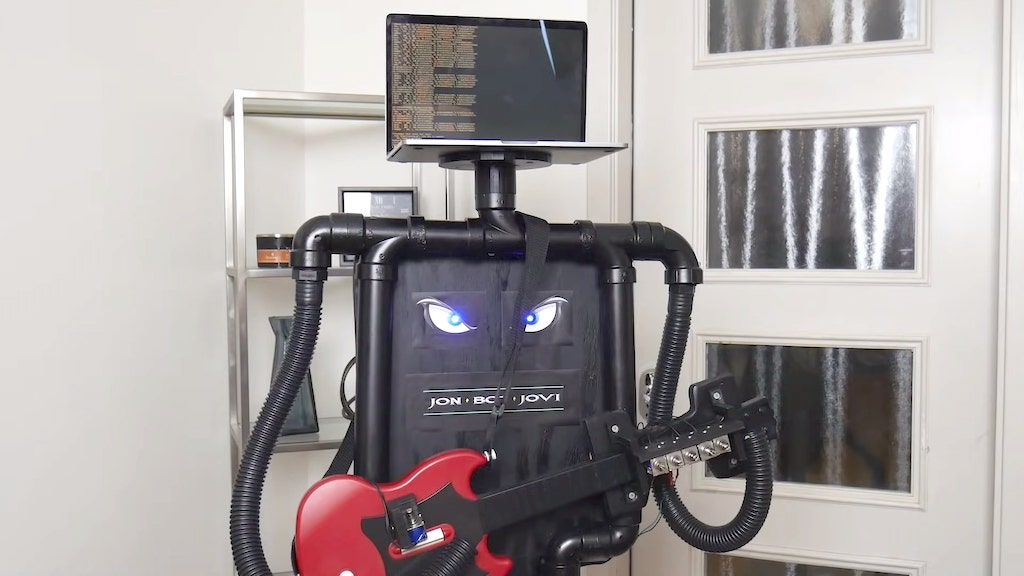 Guitar Hero robot