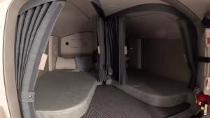 Hidden Pilot Sleeping Quarters Airbus 350